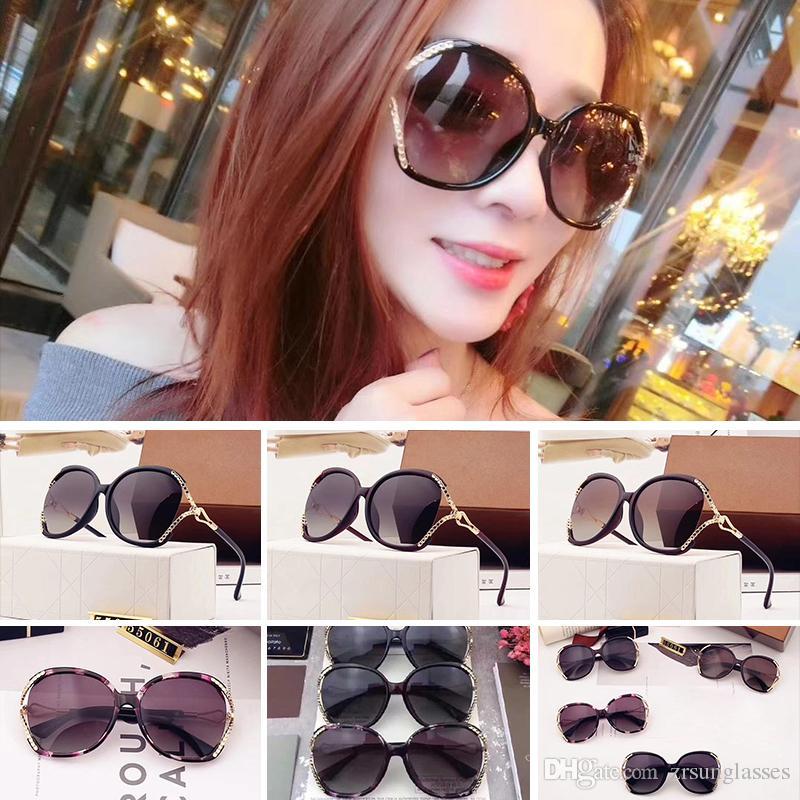 e270fa60f9 Hot Sell 2018 New Sunglasses Women Brand Designer Fashion Summer Style Sun  Glasses 55061 Women S Sunglasses With Box Suncloud Sunglasses Foster Grant  ...