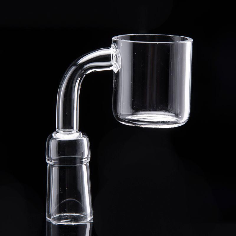 XXL flat bowl quarts banger 101419mm female male smoking accessories glass bongs dab oil rigs grinder hellosmoking 621