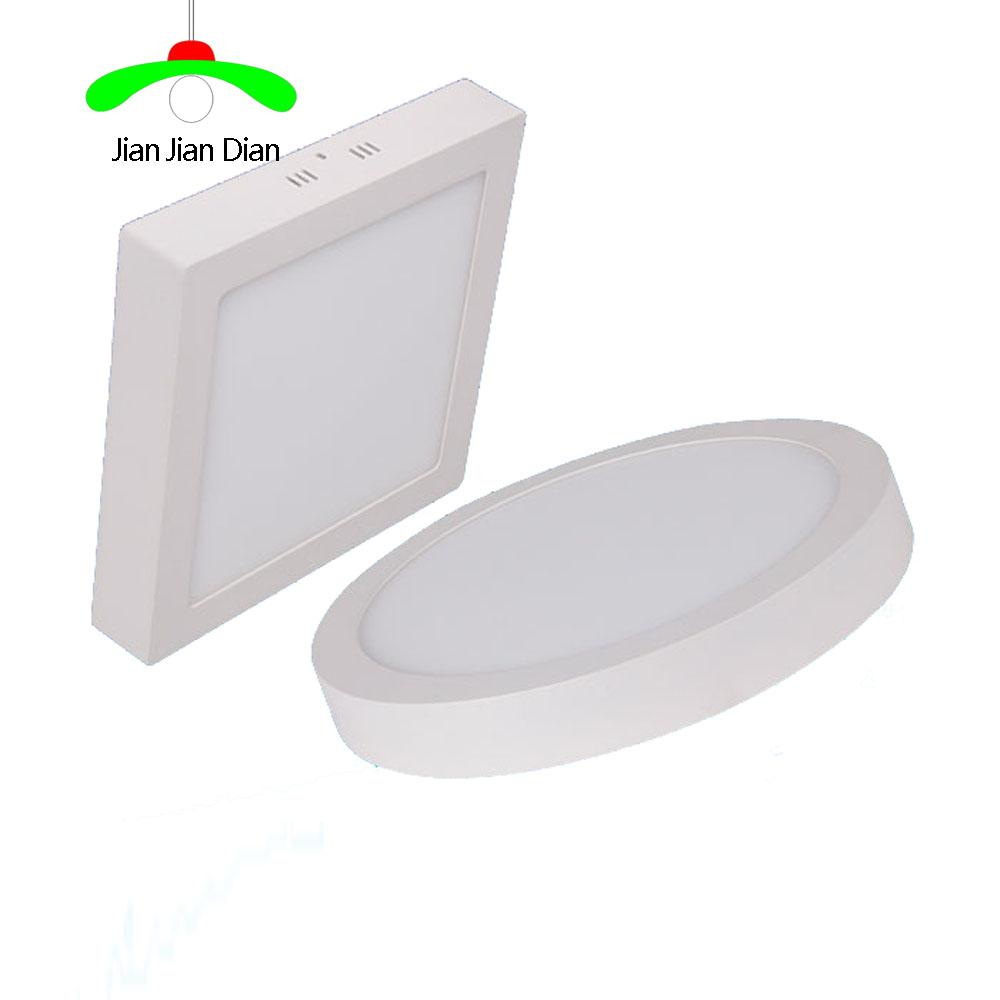 Non Dimmable Led Downlights Round Square 6w12w18w24w Super Bright Lighting Controller Panel Wall Ceiling Installation Bulb Bathroom Irradiation Cheap