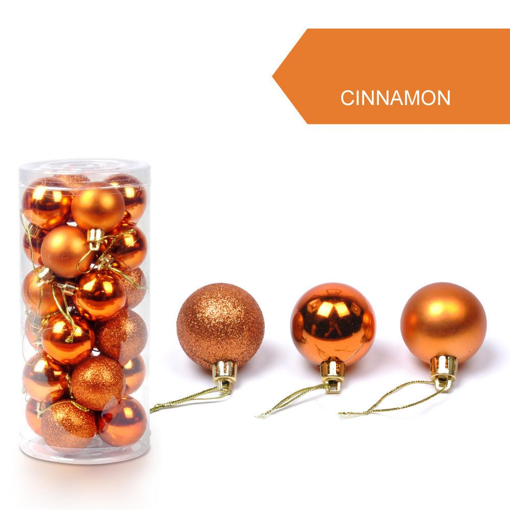 30mm Christmas Xmas Tree Ball Bauble Hanging Home Party Ornament Decor Christmas Decorations For Home Gifts For The New Year