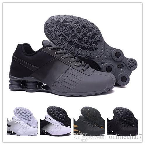 competitive price 2537f 141e2 Acheter Shox Zapatos Hombre Shox Hommes Chaussures De Course Chaussures R4  Nz Hommes Designer Baskets Homme Sport Trianers Tn Tailles Eur40 46 De   84.27 Du ...