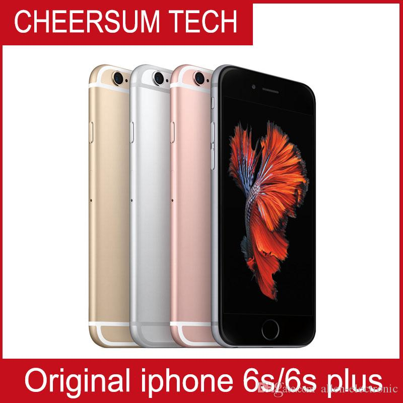 100% Original Screen Apple 4.7 Inch IPhone 6S With TOUCH IOS 9 Dual Core 2GB  RAM 16GB 64GB 128GB ROM 12MP Camera Unlocked Cell Phone Best Mobile Deals  Cash ... c3f4427371