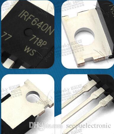 Transistor de efeito de campo genuíno do MOSFET do MOS MOSFET do MOSFET de RF640 IRF640N TO-220 RF640