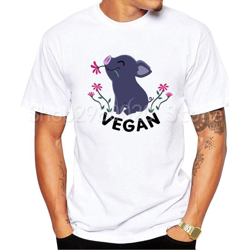 Compre Vegano Camiseta Hombre Amigos No Camisa Harajuku Kawaii Tumblr Niño  Camiseta Divertida Vegetariana Camiseta Hombre Hipster Blanca Camisetas A   28.55 ... 1be192f46a1