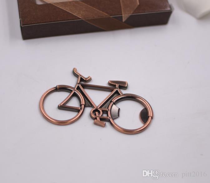 Metal Beer Bottle Opener Cute Bike Bicycle Keychain Key Rings For Lover Biker Bottle Openers Creative Gift For Cycling