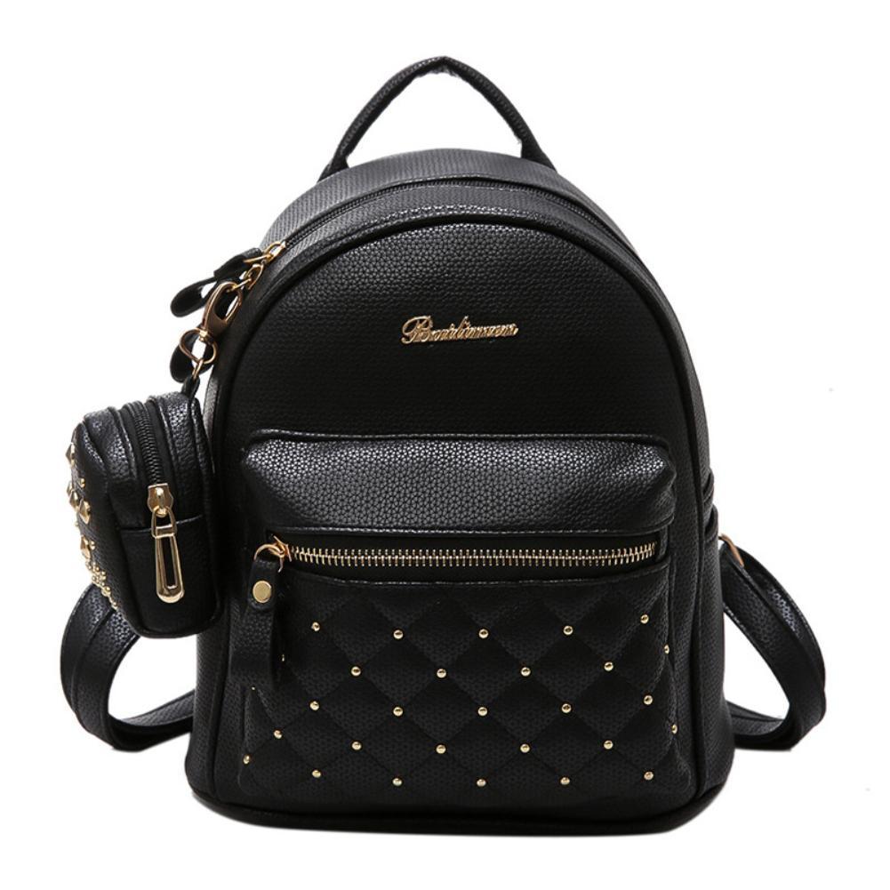 16cf607e1d254 Großhandel Lady Kunstleder Tasche Mini Rucksack Für Jugendliche Schule  Reiserucksack Y18110107 Von Gou07