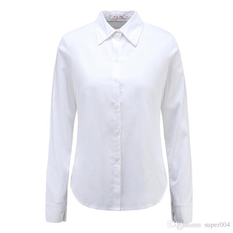 f2780841c6c6 Новые женские рубашки-блузы с короткими рукавами с длинными рукавами  Женские ...