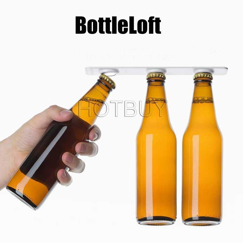 BottleLoft Refrigerator Fridge Magnet Beer Bottle Jar Hanger Holder Storage  Loft Organizer Magnetic Bottle Hanger New #4379 BottleLoft Bottle Hanger  Beer ...