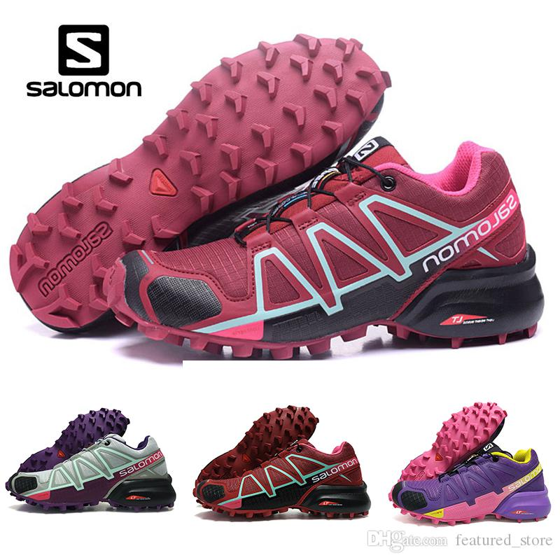 sports shoes f46ea 4091c Cheaper New Salomon Speedcross 4 4s running shoes Trail Men Women Discount  Classic Hot Sports Outdoor Sneakers Shoes size eur 36-41