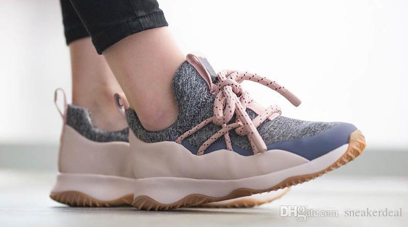 2018 Yeni Şehir Döngü Pembe Gri Erkek Kadın Koşu Ayakkabıları Yüksek Kalite Siyah Beyaz Oreo Obsidyen Kum Spor Sneakers