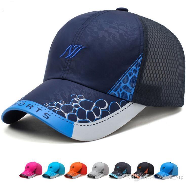 Summer Baseball Cap Men Women Lightweight Breathable Quick-Drying ... b9175b7aa77a