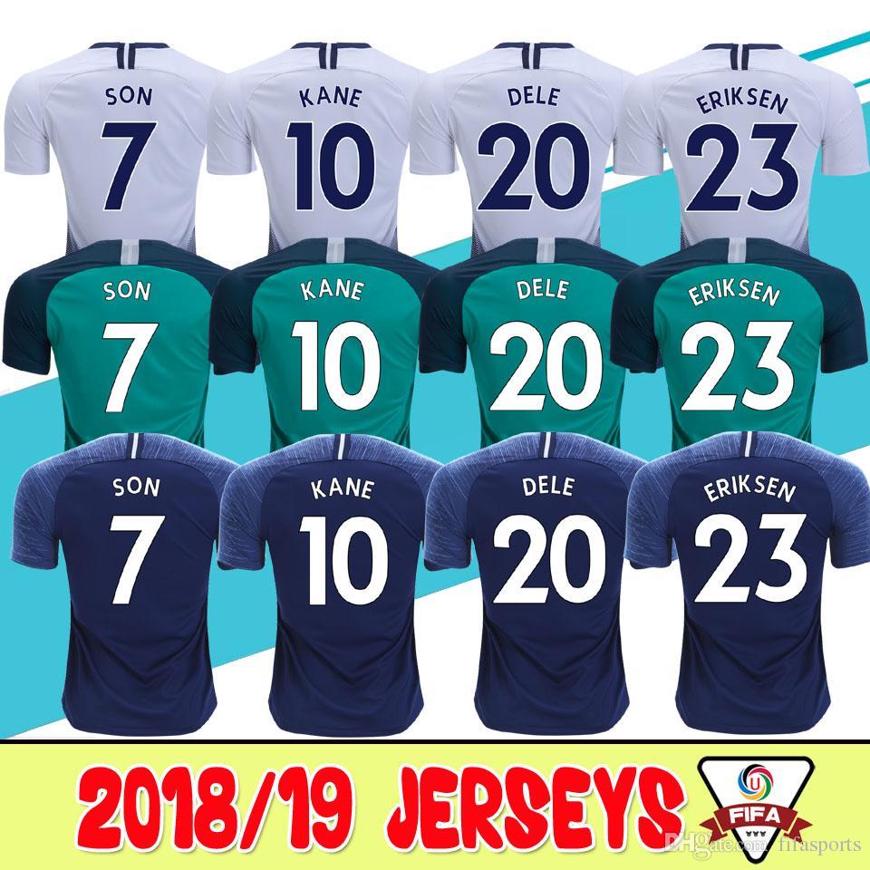 c5a932aa6 ... discount 2018 thailand quality kane spurs soccer jersey 2018 2019 lamela  dembele eriksen dele son jersey