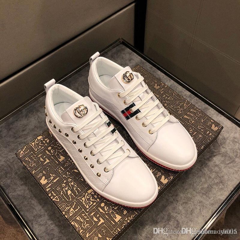 5076f311 Compre 2018 Zapatos De Lujo Para Hombre Zapatos Casuales Marcas De Lujo  Zapatillas De Deporte De Diseño As Nylon Y Gamuza Zapatilla De Tela Para  Mujer ...