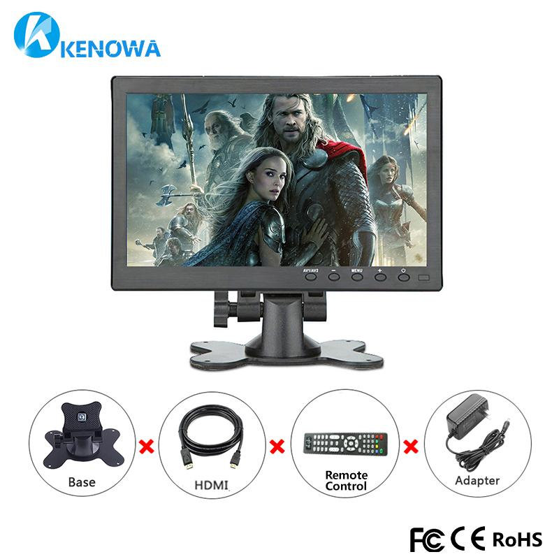 10.1 Inch 1080P full view HDMI industrial Capacitive touch monitor 1920x1200 IPS LCD screen display with AV/VGA/HDMI/USB/Speaker