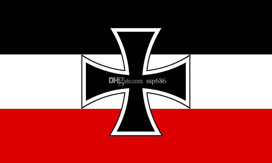 Satın Al Alman Imparatorluğunun Almanya Bayrağı Jack1903 3ft X 5ft