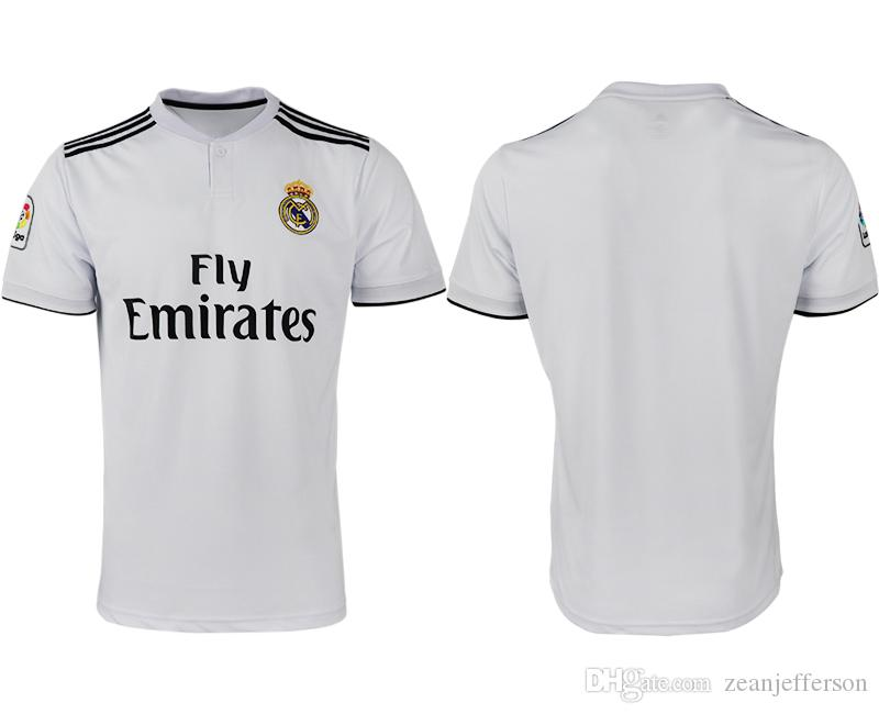 7001efed79d Real Madrid Soccer Jersey Football Shirt 10 MODRIC 20 ASENSIO 28 ...
