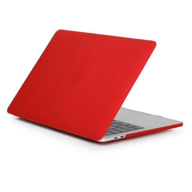 Para Macbook 11,6 12 13,3 15,4 Aire Pro Retina caso de la cubierta protectora de goma dura mate de la caja completa