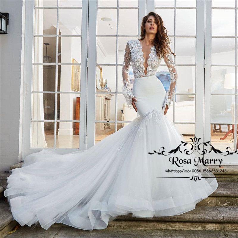 Cheap Organza High Low Tulle Wedding Dress Discount Sexy Off Shoulder  Straps Wedding Dresses d50c35e3a5b4
