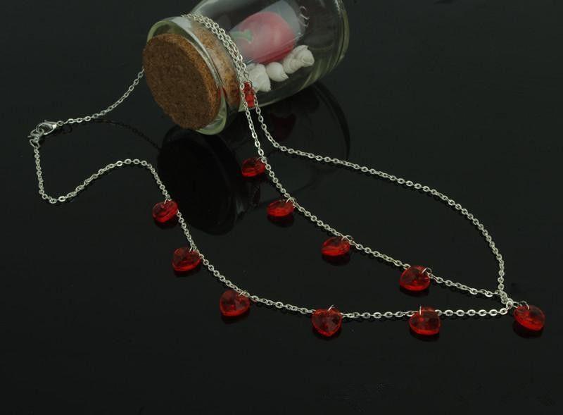 2020 Cheap In Stock Headband hair accessories chain headwear Shining Red Black Crystal Jewelry Wedding Bridal Elegant Hairpiece Accessory