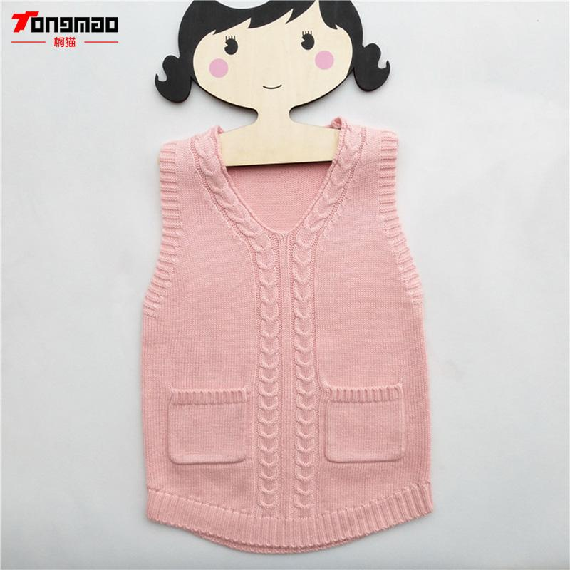 0b87924ca097 Kids Girls Sweaters Warm Soft Wool Children Girls Pullovers Casual ...