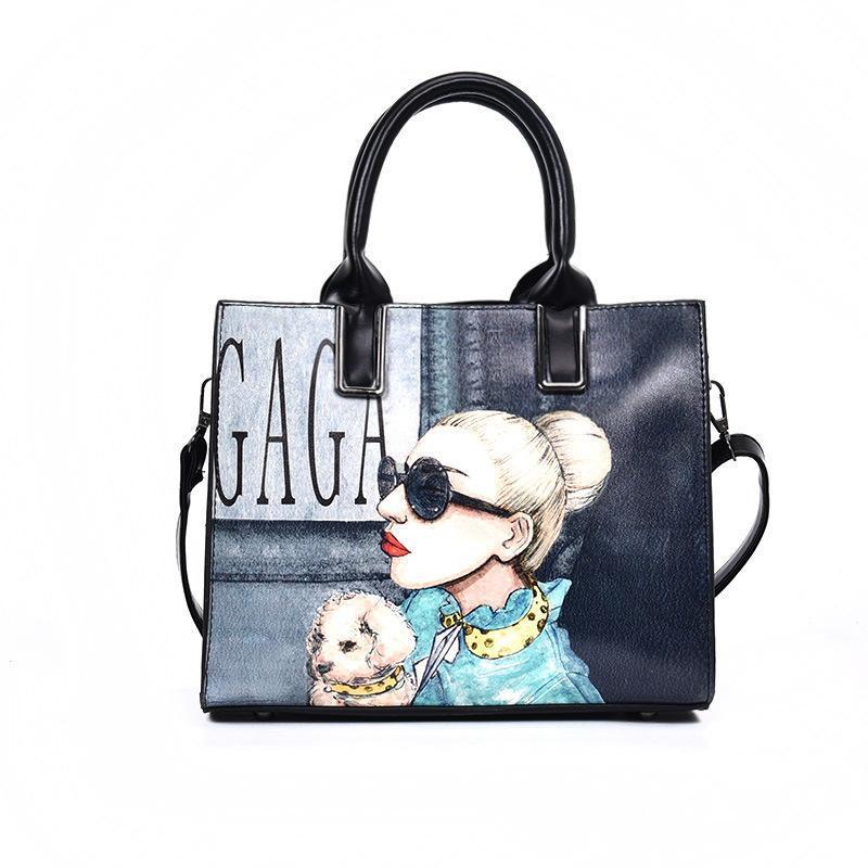 49c1b8fd12 High Quality Designer Handbags Women New Fashion Brand Large Capacity PU  Leather Shoulder Bags Leisure Handbag Bag Ladies Big Messenger Bag Leather  ...