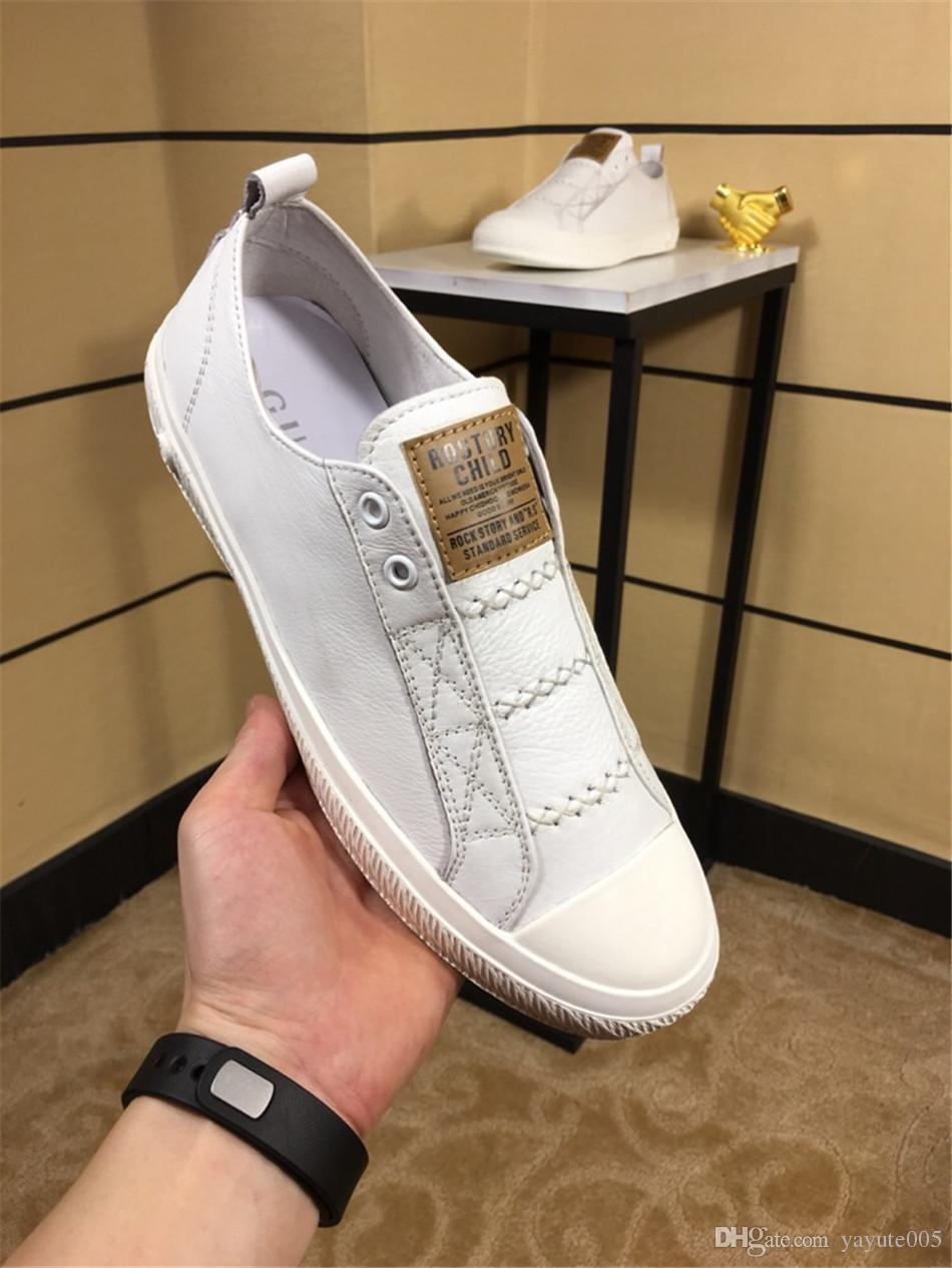 Compre Compre Compre 2018 Moda Para Hombre Marca Diseñador Zapatos Deportivos Para 3cbeff