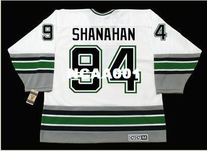 2019 Men  94 BRENDAN SHANAHAN Hartford Whalers 1995 CCM Vintage Retro Home  Hockey Jersey Or Custom Any Name Or Number Retro Jersey From Ncaa001 3db80319b5d