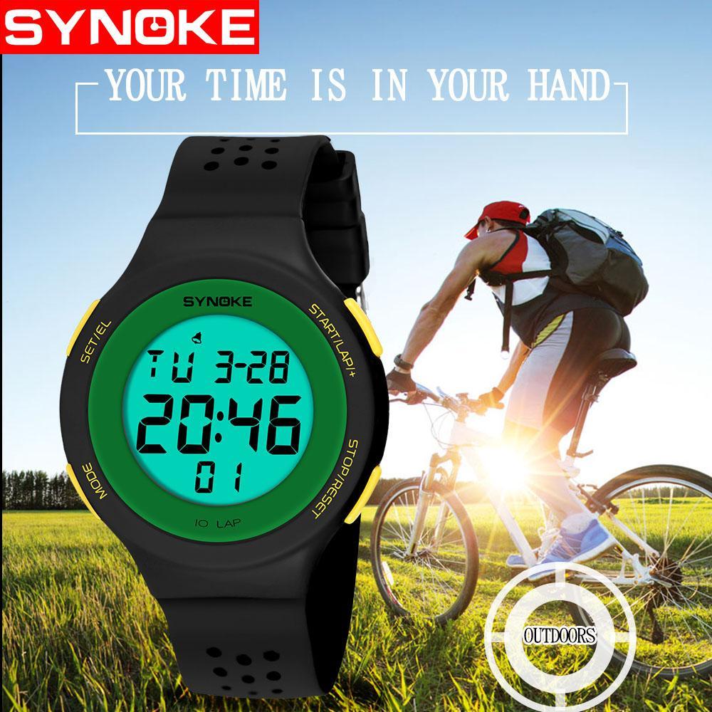 Digital Wristwatches Timer Kids Watches Alarm Chrono Boy Girl Clock 50M  Waterproof Sport Children Watch