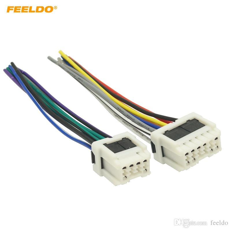 2019 feeldo car stereo power wiring harness adapter for old nissan2019 feeldo car stereo power wiring harness adapter for old nissan micra patrol skyline sunny primera radio wire plug 5712 from feeldo, $7 5 dhgate com