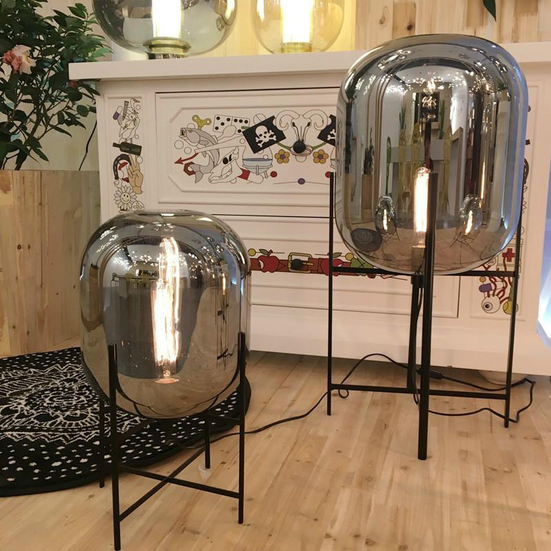 Lampadaire Moderne Brokis Lampadaires Pour Le Salon La Lecture Éclairage Loft Grand Verre De Plancher Lampes Debout E27 Grand Moyen Petit