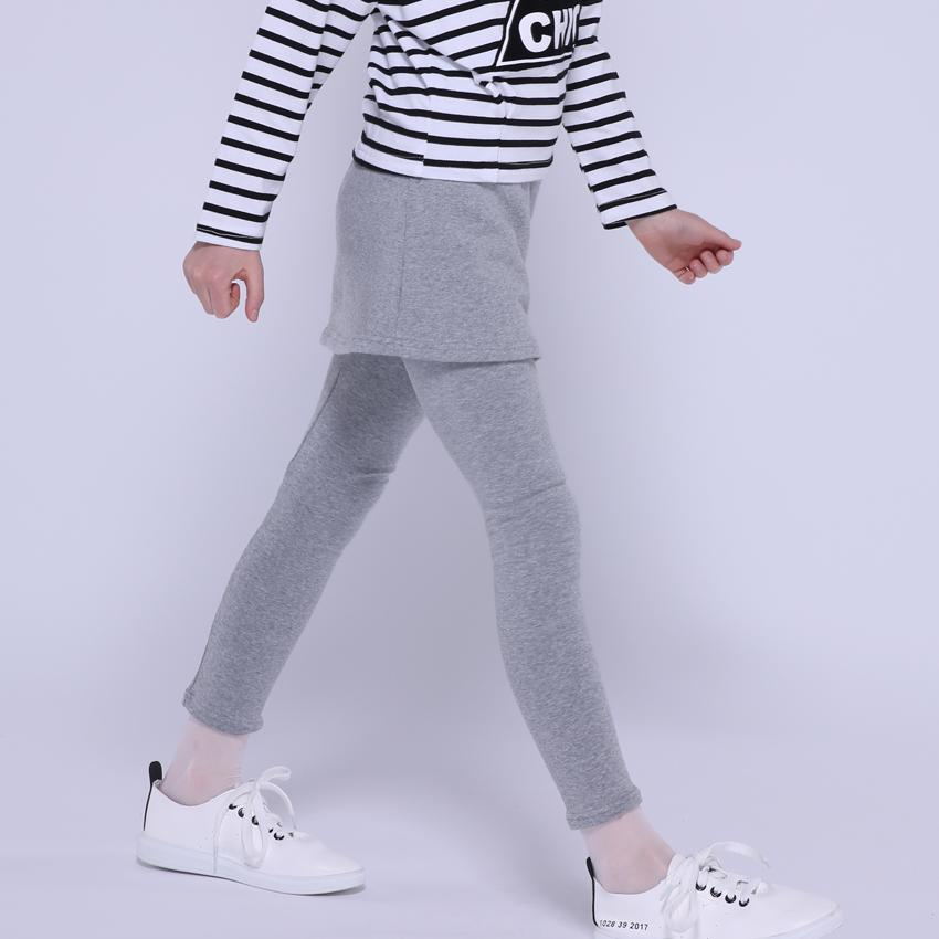 Leggings for Girls Skinny Pants Kids Cotton Trousers Children Autumn Spring Slim Pants 4 6 8 9 10 12 Years Girls Skirts Leggings