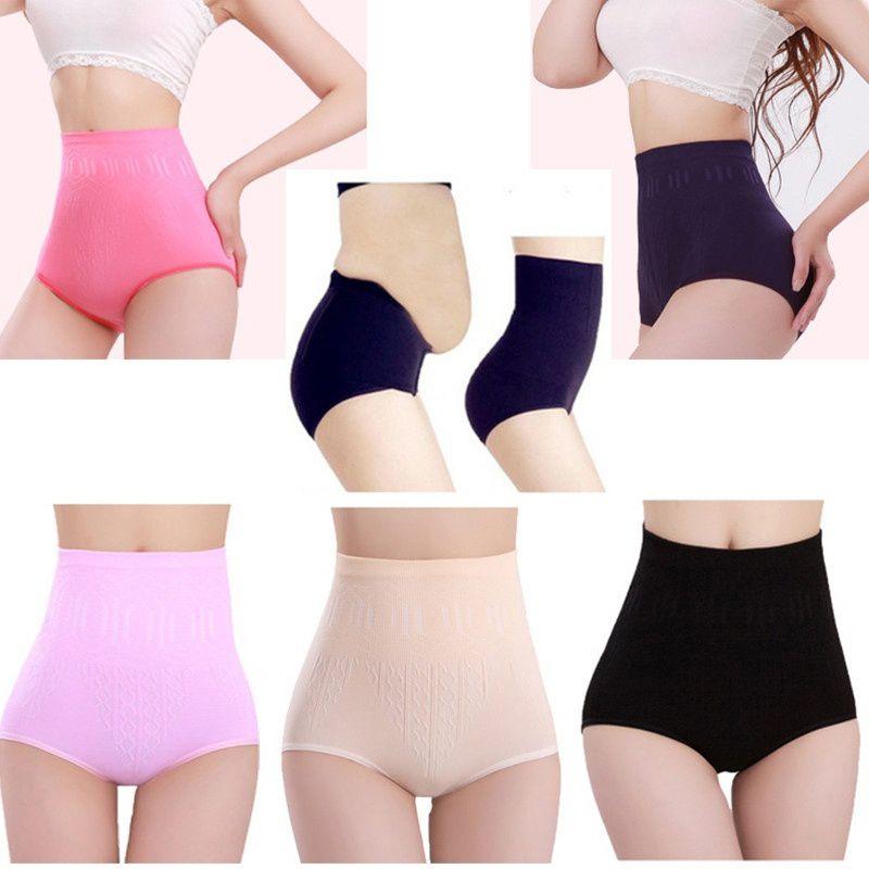 b144067163874 Fashion Sexy Panties Womens High Waist Tummy Control Body Shaper ...