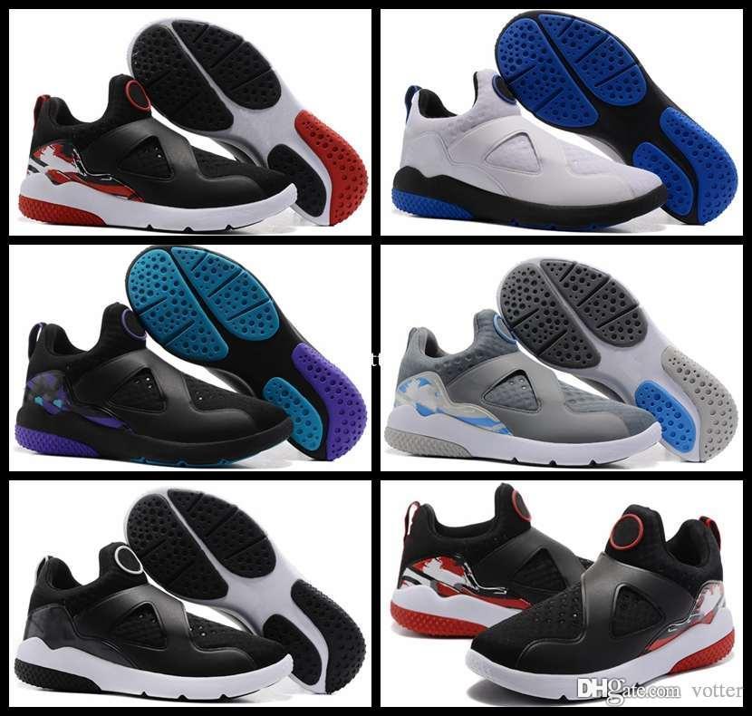 best service 4f421 812d2 ... Zoom Zapatos De Baloncesto Para Hombre 8s Correa Negro Blanco Puro  Platino Gris Hombres Deportes Zapatillas Tamaño 7 11 A  91.68 Del Votter    Dhgate.Com