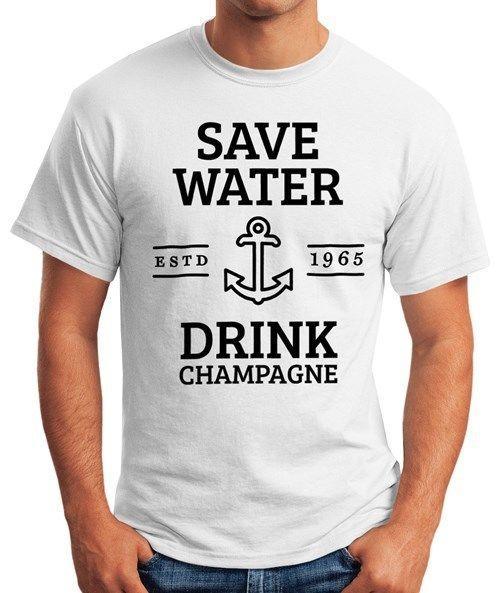 af63edda9 Compre Ahorra Agua Bebe Champagne Herren Camiseta Fun Shirt Moonworks® A   11.63 Del Toptees32
