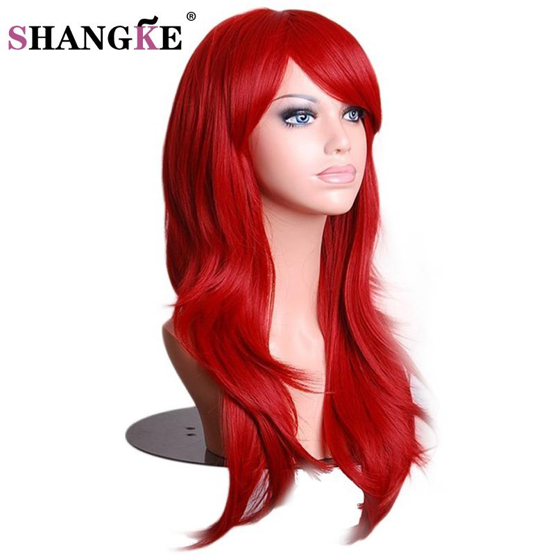 Shangke Wigs For Women Long Straight Cosplay Wigs Synthetic Hair Heat Resistant Synthetic Wigs Synthetic None-lacewigs