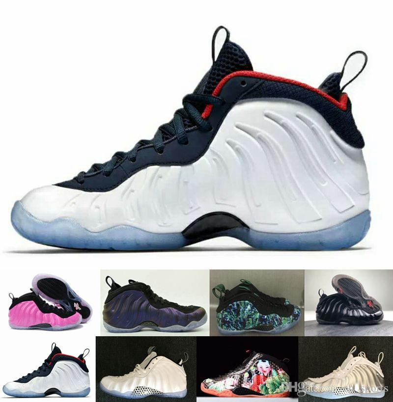 00b22e7b19e 2018 New Penny Hardaway One Galaxy Pro Mens Basketball Shoes Pink Black  White Men Sneakers Designer Brand Off Trainers Foams Sports Shoes Shoes  Canada ...