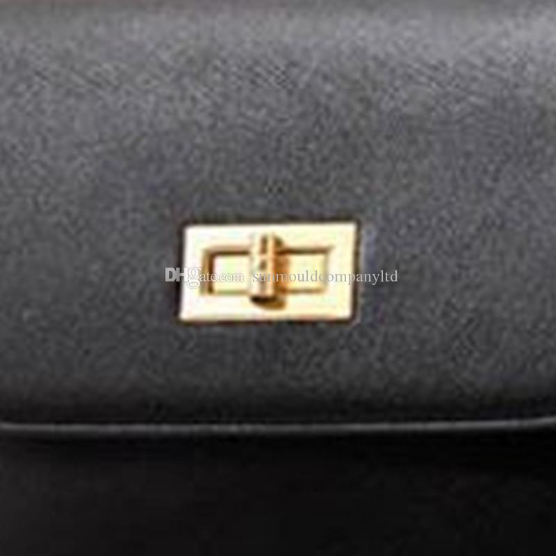 여자 클래식 브랜드 가방 잠금 핸드백 패션 백팩 cutch messager 가방 하드웨어 턴크 잠금 버클 가방 액세서리 bowtie 장식