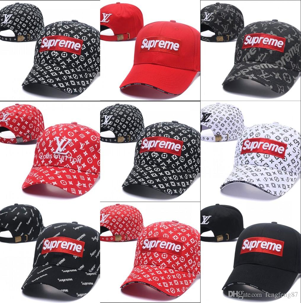 3cbebefd362 New Summer Brand Mens Designer Hats Adjustable Baseball Caps Luxury ...