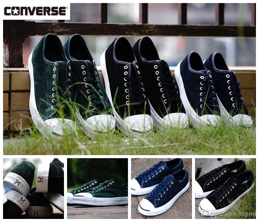 2018 Converse Cons X Polar Skate CO.Jack PURCELL Peo Casual Smile Shoes  Women Mens Converses Casual Fashion Designer Sneakers Platform Shoes Hiking  Shoes ... 1ff30c799