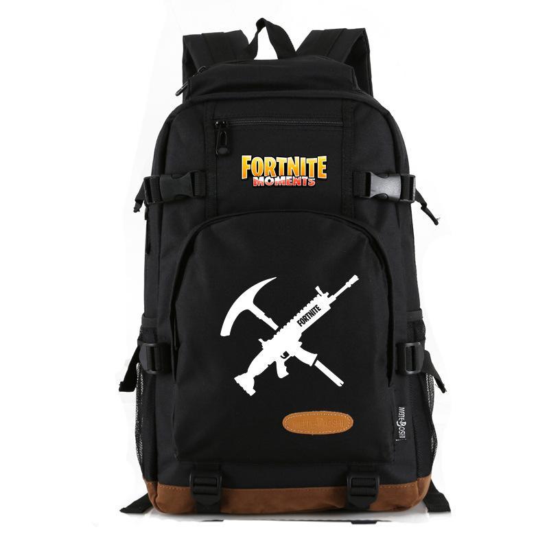 eed623b67584 2018 New Teenager School Backpacks Oxford Fortnite Game Fortress ...