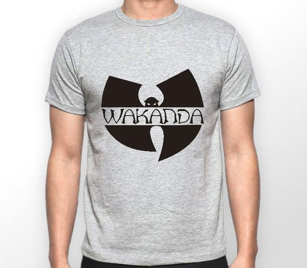 c6ad826c4 Black Panther Wutang Wakanda Avengers Marvel Comics Tshirt T Shirt Tee ALL  SIZES One Tee A Day Random Graphic Tees From Amesion03ljl, $12.08|  DHgate.Com