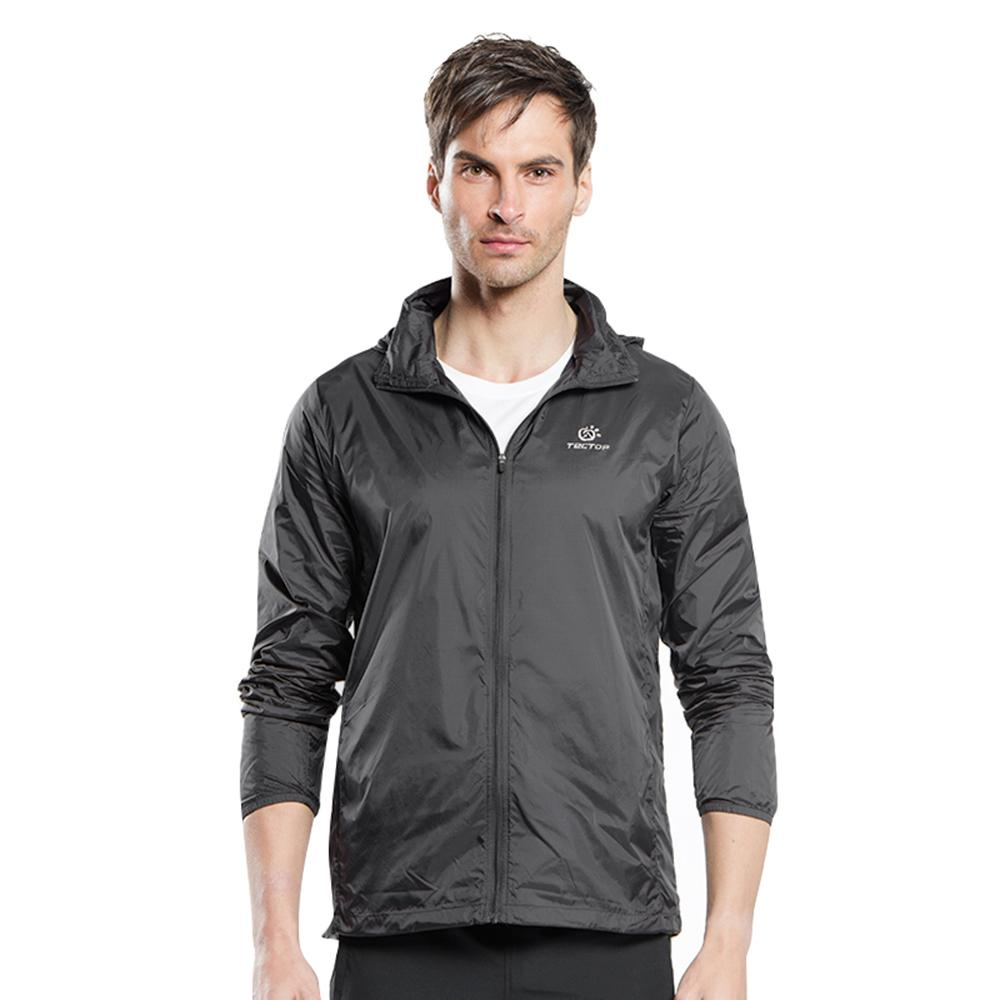 11f6a9acb10 Tectop JL-3009 Waterproof Running Jacket Men Breathable Sports ...