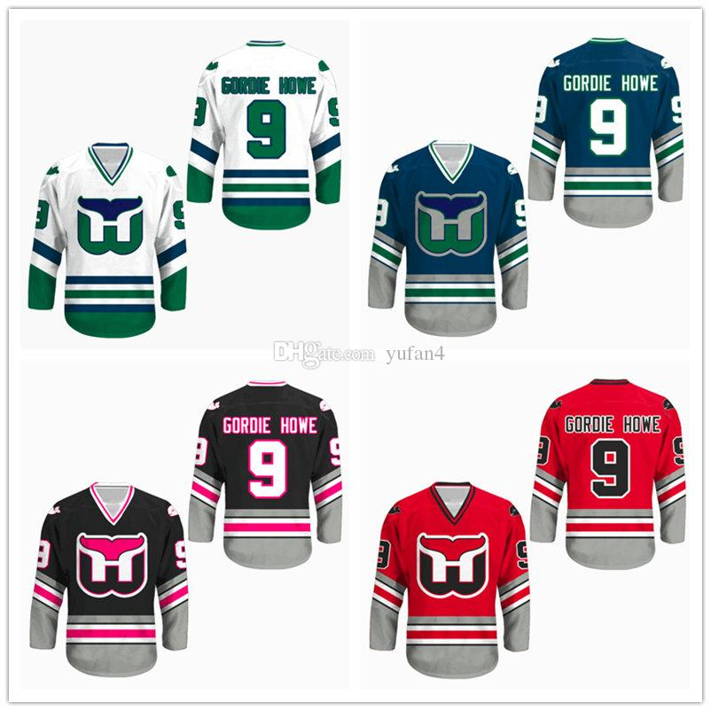 561522552ba 2019 #9 Gordie Howe Hartford Whalers Ice Hockey Jersey Mens Stitched Custom  Any Number And Name Jerseys From Yufan4, $40.6 | DHgate.Com