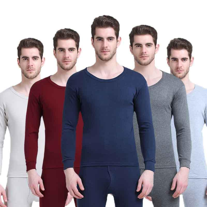 e3dc34085e7f Men s Long Johns Winter Thermal Underwear Sets Warm Long Johns Tops ...