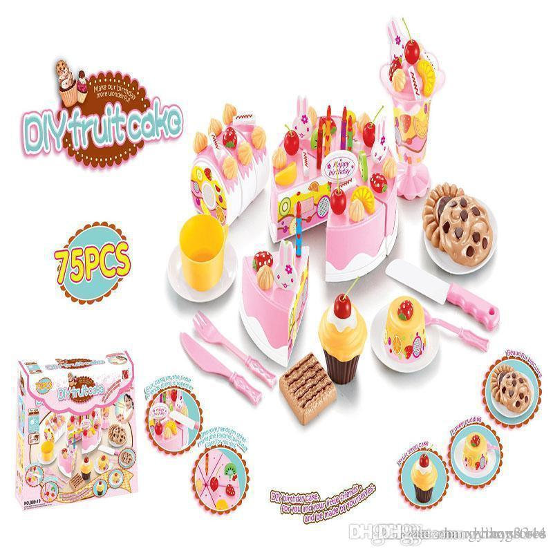 Wholesale Diy Fruitcake Cookware Set Fruit Birthday Cake Children