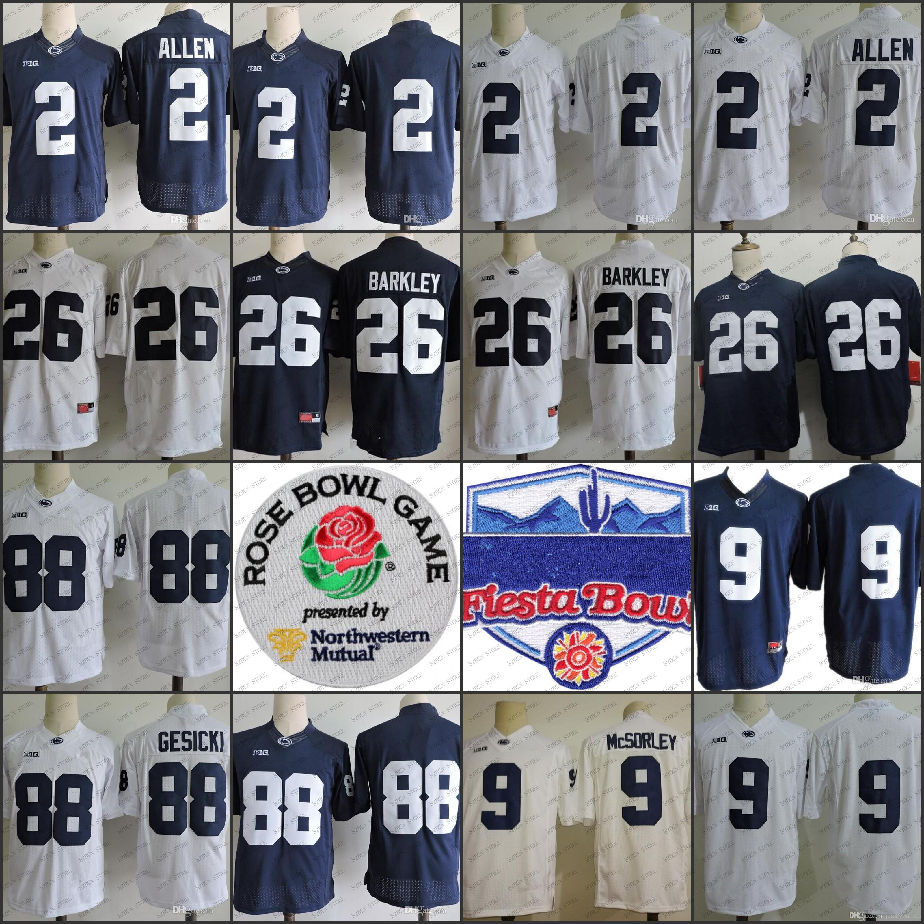 2018 NCAA College Penn State Nittany Lions 26 Saquon Barkley 2 ... a7fc88dc9
