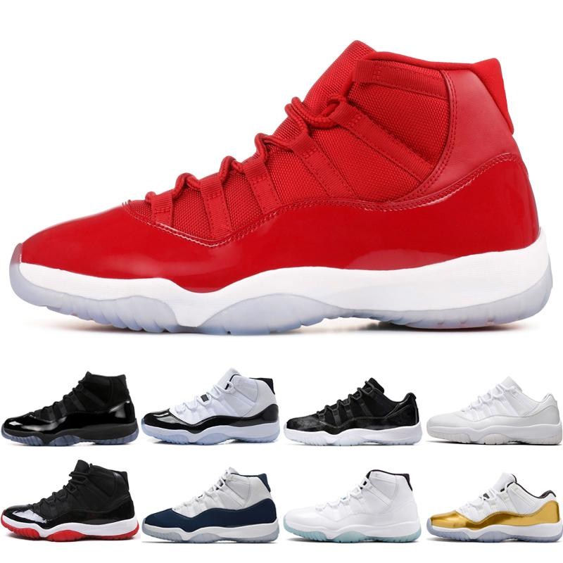 11 11s Cap And Gown Prom Night Mens Basketball Shoes Gym Red Bred PRM  Heiress Barons Concord 45 72-10 Cool Grey University Blue Men Sneakers  Online with ... 0760b2a4602c