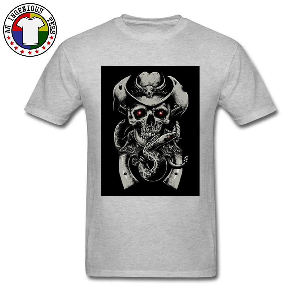 f7e72e51cd Mysterious Skull Printed On Tshirt Custom Shirts Men S Fashion Leisure  Tops Tees Plus Size 3XL Gothic Style Geek Tee Shirt Cool Long Sleeve Tee  Shirts ...