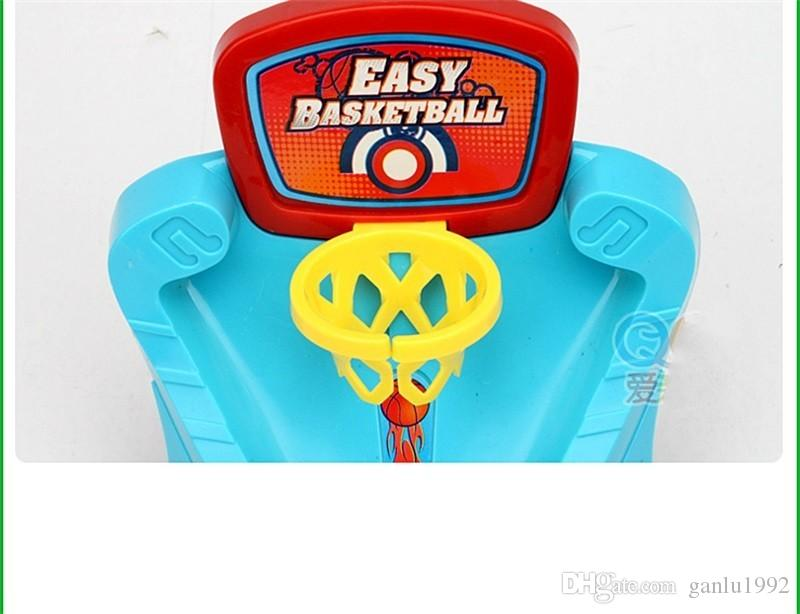 Interaction Toys Finger Ejection Launching Pad Desktop Games Basketball Court Parent Child Learning Education Game Shooting Toy 6 4bl W