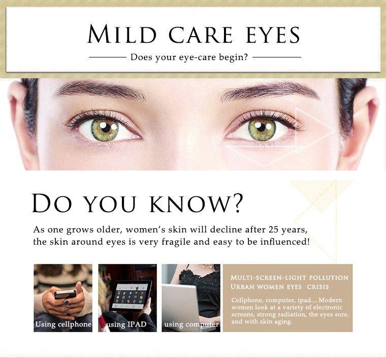 BIAQUA Gold Osmanthus Eye Mask / Bottle Eye Care Collagen gel سليب باتشي مزيل الهالات السوداء